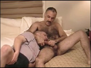 Sucking and eating cum be advantageous to soft moustache daddy