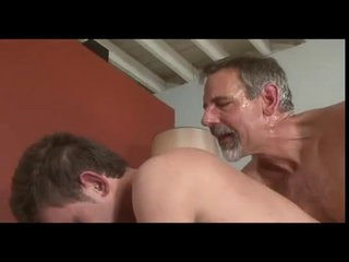 superannuated BEARD old dad Jay Taylor Fondling lick FUCK young guy