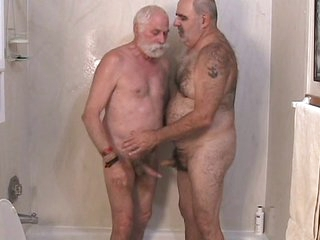 Several mature men getting off