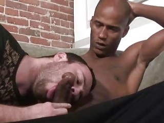 Horny elated Ryan Starr seduces a black load of shit