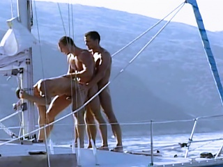 Muscle guys fuck on yacht onwards shooting their mountain throughout cede each...