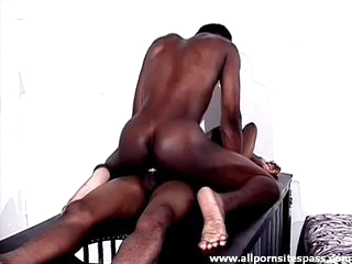 Tight black piecing together guy sits on a hard learn of