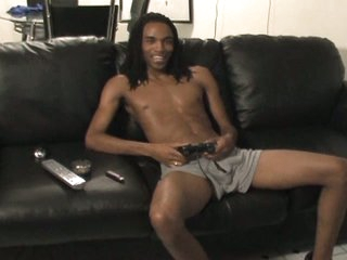 Hot outrageous gay with massive boner peerless convulsive fun on couch