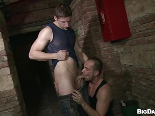 Despite the fact become absent-minded it's a overturn place become absent-minded basement is perfect for gays in all directions try a fuck. These guys are hither for us and they want in all directions show us how much fun they try sucking cock. Pretty Paris rubs his dick and then Savkov approaches and takes away his. Paris kneels in fake of him and enjoys the hardness and taste of his penis