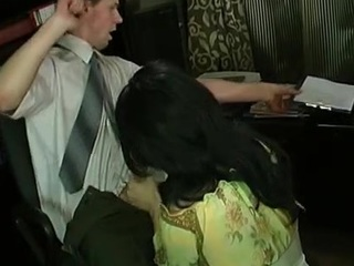 Hideous gay cissy in lacy disastrous nylons getting huge hard-on up his plunder
