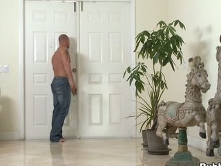 Great asshole is penetrated and dig up is sucked very deep and hot!
