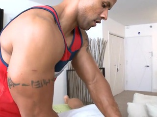 Gay hunk can't stay without to get his anal drill drilled