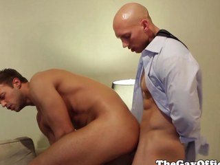 Office boss John Magnum fucked unconnected with worker